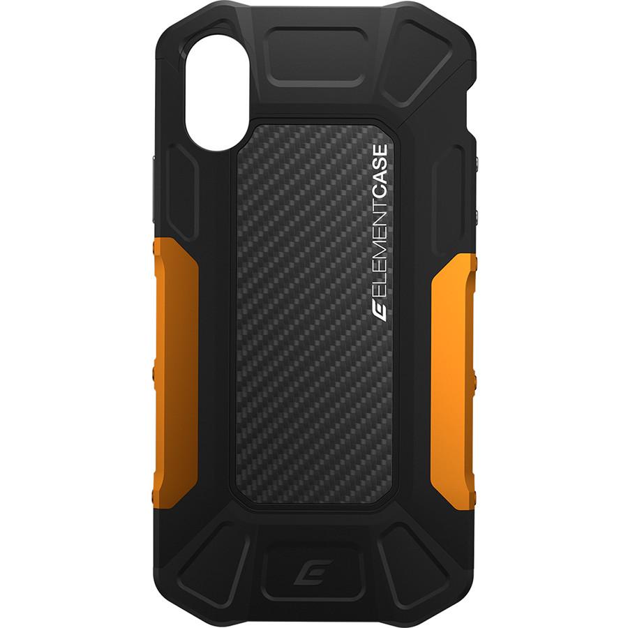 Чехол Element Case Formula для iPhone X чёрный/оранжевыйЧехлы для iPhone X<br>Element Case идут рука об руку со всеми новыми iPhone, создавая им самую лучшую защиту из всех возможных.<br><br>Цвет: Оранжевый<br>Материал: Поликарбонат (PC), термопластичный полиуретан (TPU), алюминий серии 6061, карбоновое волокно