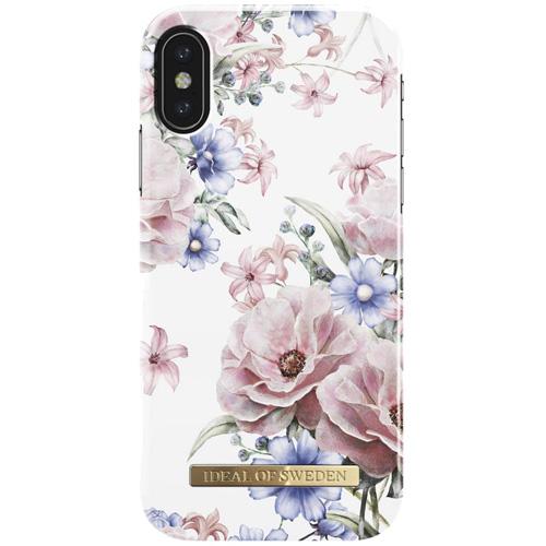 Чехол iDeal of Sweden Fashion Case для iPhone X (Floral Romance)Чехлы для iPhone X<br>Чехол iDeal of Sweden Fashion Case станет истинным украшением самого лучшего смартфона!<br><br>Цвет товара: Разноцветный<br>Материал: Пластик, замша