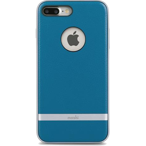 Чехол Moshi Napa для iPhone 7 Plus (Айфон 7 Плюс) синийЧехлы для iPhone 7 Plus<br>Чехол Moshi Napa для iPhone 7 Plus - Marine Blue синий<br><br>Цвет товара: Синий<br>Материал: Поликарбонат, полиуретановая кожа