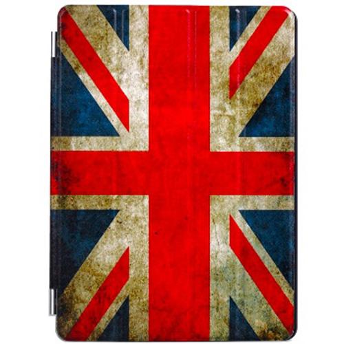 Крышка Anzo для iPad 9.7 (2017/2018) / iPad Air Great BritanЧехлы для iPad Air<br>Чехол ANZO SmC для iPad Air Great Britan (F901)<br><br>Цвет: Разноцветный<br>Материал: Эко-кожа , поликарбонат