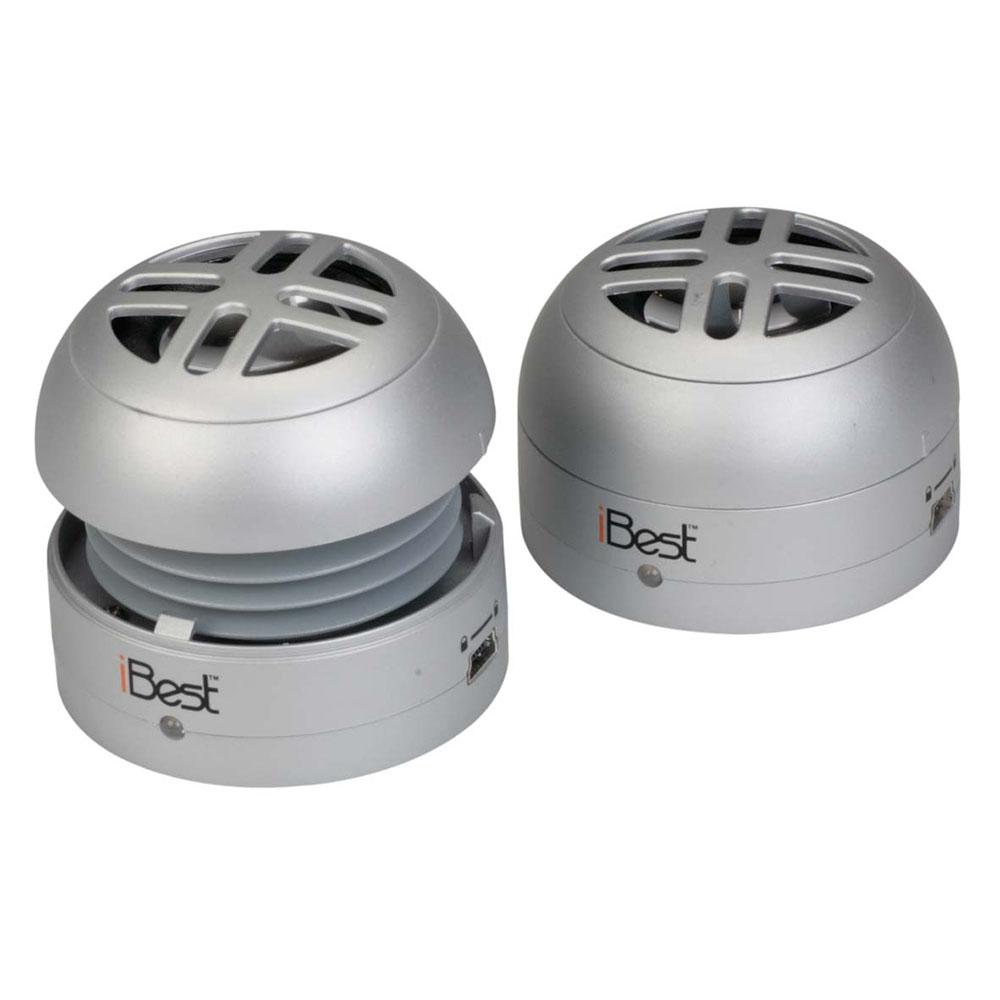Портативная акустическая система iBest PS-211SКолонки и акустика<br>iBest PS-211S отлично воспроизводит музыку!<br><br>Цвет товара: Серебристый<br>Материал: Пластик