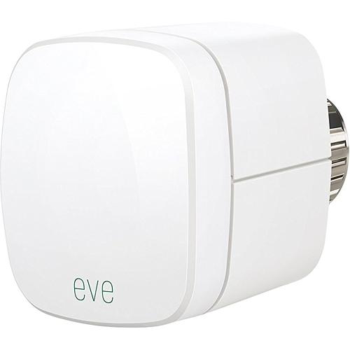 Термостат Elgato Eve Thermo для регулирования температуры комнатных радиаторовКлиматическая техника для дома<br>Термостат Elgato Eve Thermo для регулирования температуры комнатных радиаторов<br><br>Цвет товара: Белый<br>Материал: Пластик