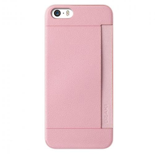 Чехол Ozaki O!coat POCKET 0.3 для iPhone 5/SE розовыйЧехлы для iPhone 5s/SE<br>Чехол Ozaki O!coat POCKET 0.3 для iPhone 5/SE<br><br>Цвет товара: Розовый<br>Материал: Пластик, кожа