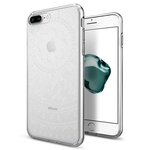 Чехол Spigen Liquid Crystal Shine для iPhone 7 Plus (Айфон 7 Плюс) прозрачный (SGP-043CS20961). Производитель: Spigen, артикул: 80806