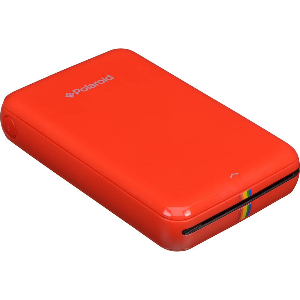 Портативный принтер Polaroid ZIP Mobile Printer красныйПортативные принтеры<br>Polaroid ZIP — это портативный принтер для быстрой печати фотографий со смартфона или планшета на базе iOS или Android.<br><br>Цвет товара: Красный<br>Материал: Пластик