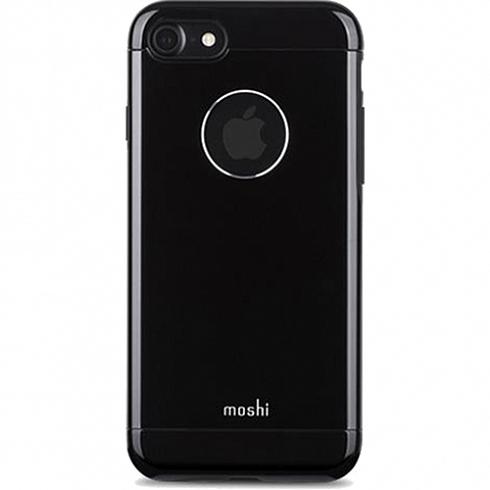 Чехол Moshi Armour для iPhone 7, iPhone 8 чёрный оникс (Jet Black)Чехлы для iPhone 7<br>Moshi Armour имеет необходимые вырезы под функциональные элементы и полностью соответствует всем требованиям эффективной эксплуатации Вашего ...<br><br>Цвет товара: Чёрный оникс<br>Материал: Металл, поликарбонат