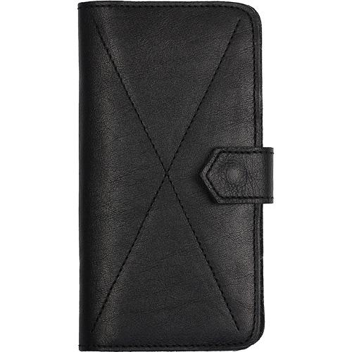 Чехол-бумажник Ray Button Kassel для iPhone 6/6s/7 Plus чёрныйЧехлы для iPhone 7 Plus<br>Стильный чехол. Удобный бумажник.<br><br>Цвет товара: Чёрный<br>Материал: Натуральная кожа, войлок