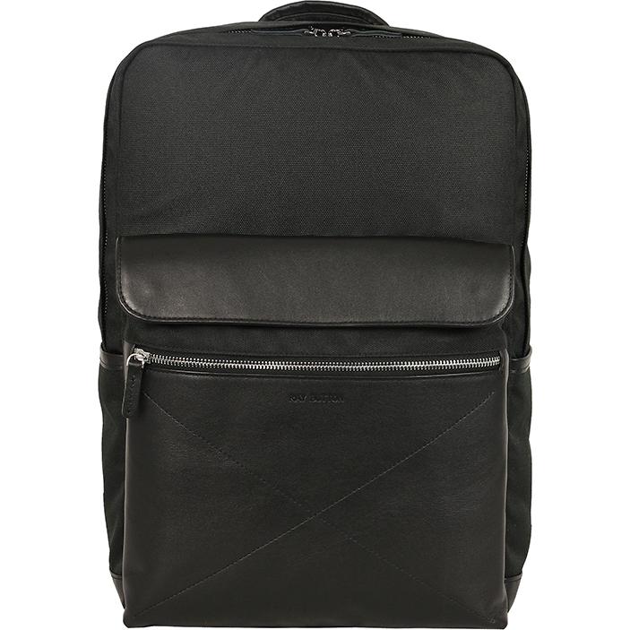 Рюкзак Ray Button New Bergen для MacBook 15 чёрный (505C1)Рюкзаки<br>New Bergen — новая версия самого популярного рюкзака от Ray Button!<br><br>Цвет товара: Чёрный<br>Материал: Натуральная кожа КРС, нейлоновая ткань Кордура с ВО пропиткой, металлическая молния YKK