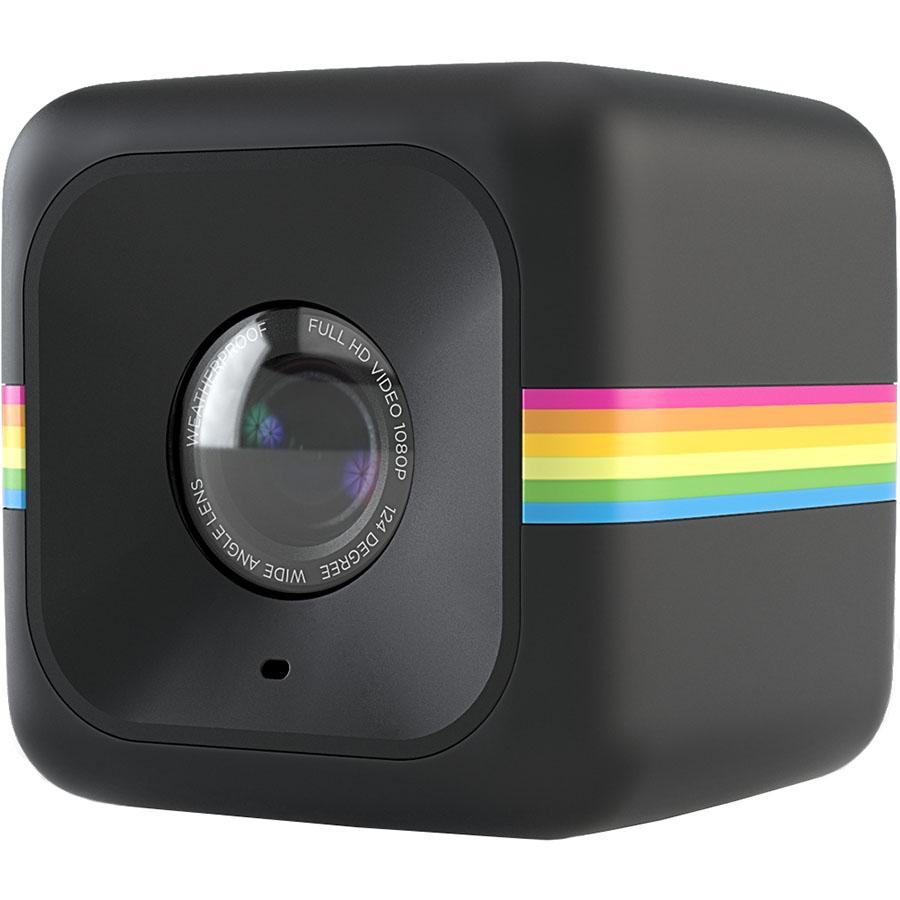 Камера Polaroid Cube+ чёрнаяВидеокамеры, очки, экшн-камеры<br>С Polaroid Cube+ вы сможете снимать по-настоящему качественное видео!<br><br>Цвет товара: Чёрный<br>Материал: Пластик