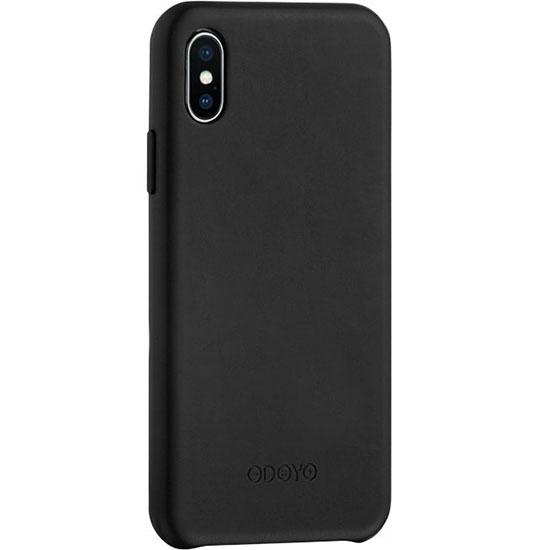 Чехол Odoyo Snap Edge для iPhone X (Sesame Black) чёрныйЧехлы для iPhone X<br>Odoyo Snap Edge защитит смартфон от негативных воздействий, и подчеркнёт ваш утончённый вкус.<br><br>Цвет: Чёрный<br>Материал: Пластик, заменитель кожи
