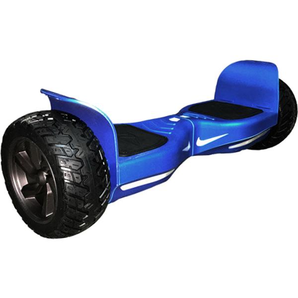 Гироскутер Asixbot Off-Road 9 синийГироскутеры<br>У гироскутера Asixbot Off-Road широкие мощные 9 дюймовые колёса, способные передвигаться не только по асфальту, но и по траве, песку или камушкам.<br><br>Цвет товара: Синий<br>Материал: Износостойкий полимер, металл