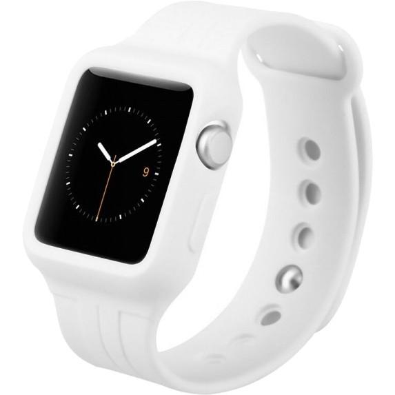 Спортивный ремешок Baseus Fresh Color Plus для Apple Watch 42 мм белыйРемешки для Apple Watch<br>Для хорошего настроения и превосходных результатов!<br><br>Цвет товара: Белый<br>Материал: Силикон