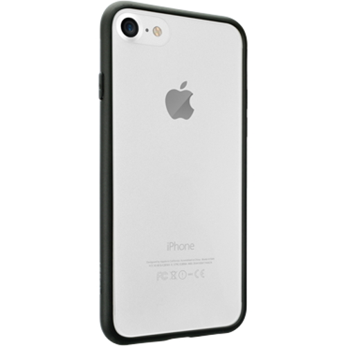 Чехол Ozaki O!coat 0.3+bumper для iPhone 7 (Айфон 7) чёрныйЧехлы для iPhone 7<br>Чехол Ozaki O!coat 0.3 + Bumper для iPhone 7 черный<br><br>Цвет товара: Чёрный<br>Материал: Поликарбонат, полиуретан