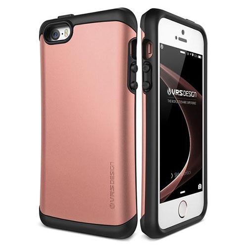 Чехол Verus Hard Drop для iPhone 5/5S/SE розовое золото (904509)