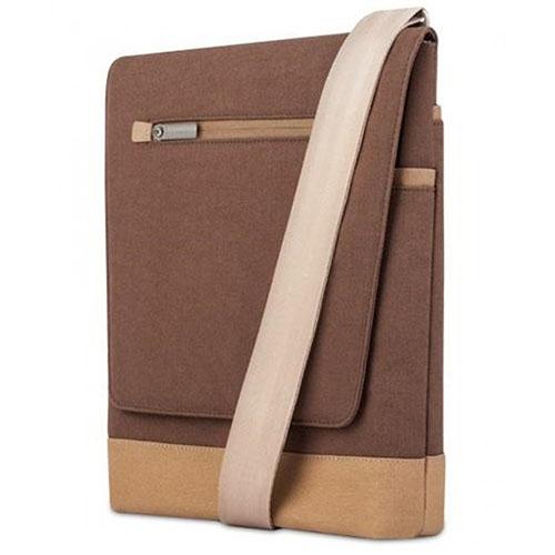 Сумка Moshi Aerio Lite для iPad коричневаяСумки для iPad<br>Moshi Aerio Lite прекрасно защищает iPad.<br><br>Цвет товара: Коричневый<br>Материал: Полиэстер, хлопок