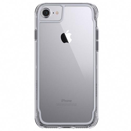 Чехол Griffin Survivor Clear для iPhone 7/6s/6 прозрачный/серый космосЧехлы для iPhone 6/6s<br>Соответствует высоким защитным стандартам!<br><br>Цвет товара: Серый космос<br>Материал: Поликарбонат, термопластичный полиуретан