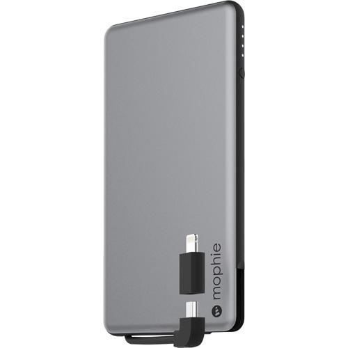 Внешний аккумулятор Mophie Powerstation Plus Mini 4000 мАч серебристыйДополнительные и внешние аккумуляторы<br>Powerstation Plus Mini является одной из самых компактных и мощных внешних батарей когда-либо созданных Mophie.<br><br>Цвет товара: Серебристый<br>Материал: Алюминий, пластик