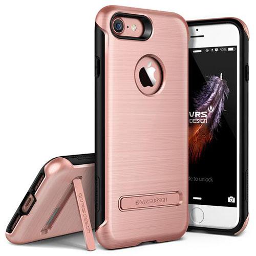 Чехол Verus Duo Guard для iPhone 7 (Айфон 7) розовое золото (VRIP7-DGDRG)