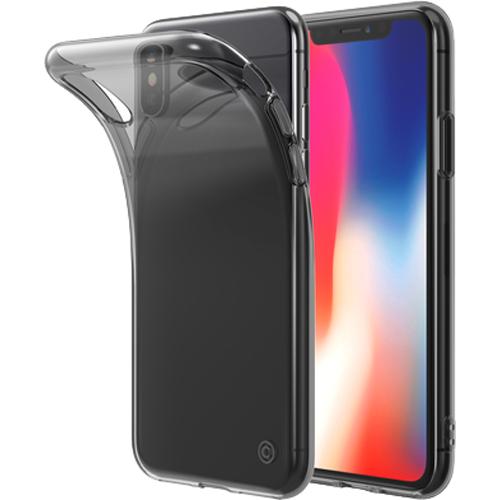 Чехол LAB.C Slim Soft для iPhone X прозрачный/чёрныйЧехлы для iPhone X<br>Абсолютно прозрачный, гибкий и прочный чехол LAB.C Slim Soft обеспечит вашему смартфону по-настоящему высокую степень защиты.<br><br>Цвет: Прозрачный<br>Материал: Пластик
