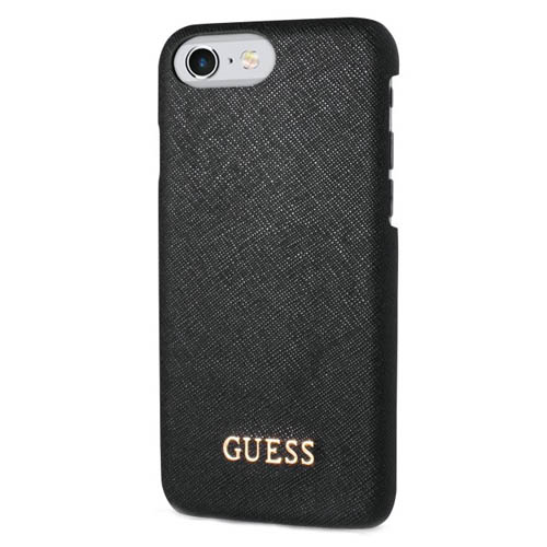 Чехол Guess Saffiano Look Hard PU для iPhone 7 чёрный