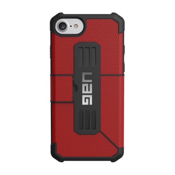 Чехол UAG Metropolis Series Case для iPhone 6/6s/7 красныйЧехлы для iPhone 6/6s<br>UAG Metropolis Series Case обеспечивает защиту на все 360°!<br><br>Цвет товара: Красный<br>Материал: Пластик