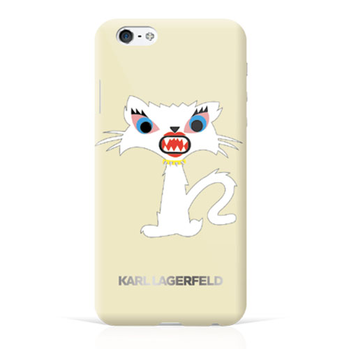"Чехол Karl Lagerfeld Monster для iPhone 6/6s (4,7"") Бежевый"