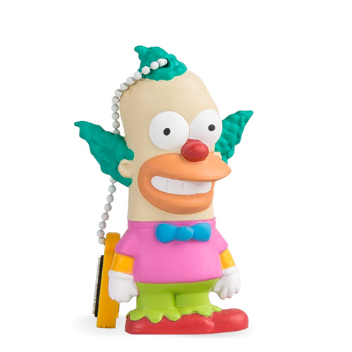 Флешка Maikii Tribe The Simpsons Krusty 8 ГбФлешки<br>USB-Флешка Maikii The Simpsons KRUSTY 8Gb<br><br>Цвет товара: Разноцветный<br>Материал: Пластик, металл<br>Модификация: 8 Гб