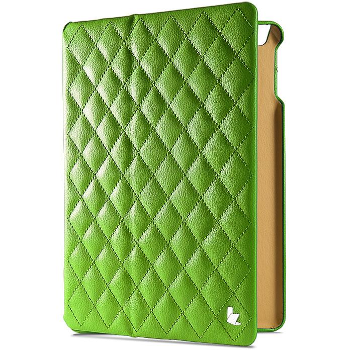 Чехол Jison Matelasse Case для iPad Air зелёныйЧехлы для iPad Air<br>Чехол Jison Matelasse Case - это чистые линии и высокая функциональность, простота и технологичность, элегантность и универсальный дизайн.<br><br>Цвет товара: Зелёный<br>Материал: Натуральная кожа, поликарбонат