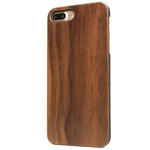 Чехол Woodcessories EcoCase Classic для iPhone 7 Plus (Айфон 7 Плюс) грецкий орехЧехлы для iPhone 7 Plus<br>Woodcessories EcoCase Classic — невероятно красивый и удобный чехол!<br><br>Цвет товара: Коричневый
