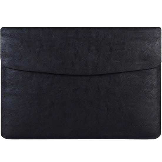 Чехол Cartinoe Luxury Series Sleeve для MacBook 13 чёрныйMacBook<br>Cartinoe Luxury Series Sleeve будет смотреться уместно в любой обстановке.<br><br>Цвет: Чёрный<br>Материал: Эко-кожа