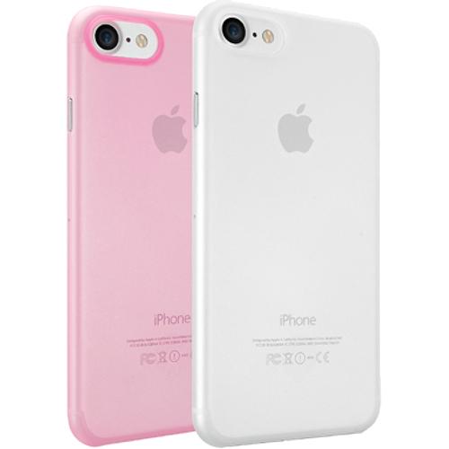 Набор чехлов Ozaki O!coat 0.3 Jelly 2 in 1 для iPhone 7 (Айфон 7) розовый+прозрачныйЧехлы для iPhone 7<br>Набор чехлов Ozaki O!coat 0.3 Jelly 2 in 1 для iPhone 7 (Айфон 7) розовый+прозрачный<br><br>Цвет товара: Разноцветный<br>Материал: Поликарбонат