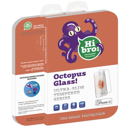 Защитное стекло HiBro! Octopus Glass для iPhone 5 / iPhone 5S / iPhone SEСтекла/Пленки на смартфоны<br>HiBro! Octopus Glass убережёт экран смартфона от неприятностей!<br><br>Цвет товара: Прозрачный<br>Материал: Стекло