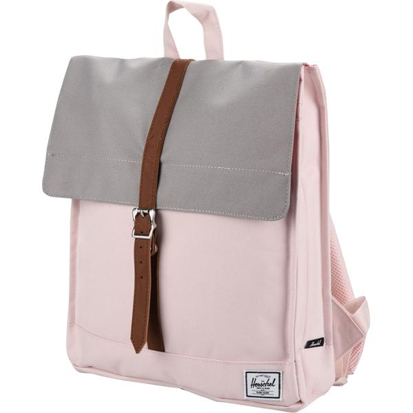 Рюкзак Herschel City Backpack Mid-Volume розовыйРюкзаки<br>Herschel City Backpack Mid-Volume - удобный, стильный и компактный городской рюкзак.<br><br>Цвет товара: Розовый<br>Материал: Полиэстер
