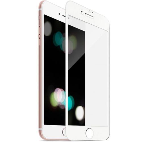 Защитное стекло MOCOLL White Diamond 3D Full Cover для iPhone 7 Plus/8 Plus белая рамкаСтекла/Пленки на смартфоны<br>MOCOLL 3D Full Cover обеспечивает отличную защиту дисплея изо дня в день, не позволяя царапинам появляться на экране вашего iPhone!<br><br>Цвет: Белый<br>Материал: Стекло; олеофобное покрытие, антибликовое покрытие, покрытие против отпечатков пальцев