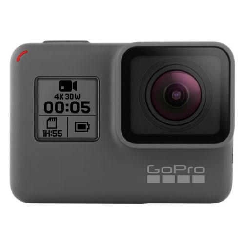 Камера GoPro HERO 5 Black (CHDHX-501)Видеокамеры, очки, экшн-камеры<br>GoPro HERO 5 запускается мгновенно - просто активируйте кнопку затвора для того, чтобы камера тут же приступила к записи видео.<br><br>Цвет товара: Чёрный<br>Материал: Пластик