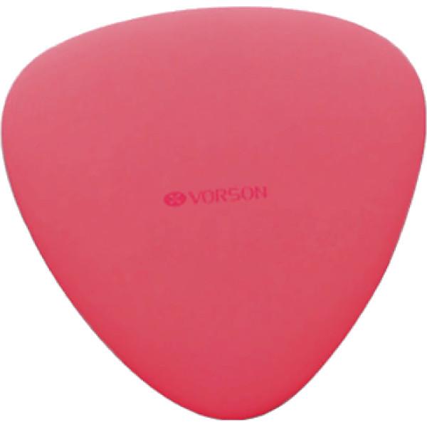 Беспроводное зарядное устройство Vorson Tailors Chalk Wireless Charger красноеСетевые зарядки<br>Чтобы зарядить смартфон, вам достаточно положить его на зарядную площадку станции.<br><br>Цвет товара: Красный<br>Материал: Пластик ABS, поликарбонат PC