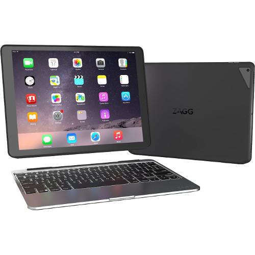 Беспроводная клавиатура-чехол ZAGG Slim Book для iPad Pro 12,9Чехлы для iPad Pro 12.9<br>Клавиатура беспроводная ZAGG Slim Book для iPad Pro 12.9<br><br>Цвет товара: Чёрный<br>Материал: Пластик