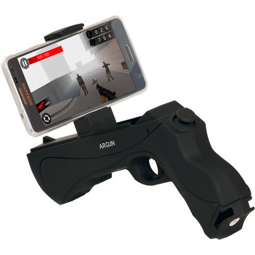 Пистолет для виртуальной реальности Dreamlock AR-Gun чёрныйИгрушки управляемые смартфоном<br>Пистолет Dreamlock AR-Gun — яркая новинка в мире виртуальных и дополненных технологий.<br><br>Цвет товара: Чёрный<br>Материал: Пластик