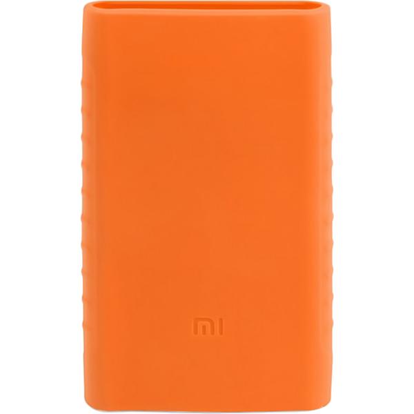 Силиконовый чехол Xiaomi Silicone Protector Sleeve для аккумулятора Mi Power Bank 2 (10000 мАч) оранжевыйВнешние аккумуляторы<br>Силиконовый чехол Xiaomi Silicone Protector Sleeve — защита и украшение для вашего аккумулятора Mi Power Bank 2 (10000 мАч).<br><br>Цвет товара: Оранжевый<br>Материал: Силикон