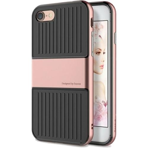 Чехол Baseus Travel Case для iPhone 7 розовое золотоЧехлы для iPhone 7<br>Чехол Baseus Travel Case — это два слоя превосходной защиты и стиля для вашего iPhone.<br><br>Цвет товара: Розовое золото<br>Материал: Поликарбонат, термопластичный полиуретан