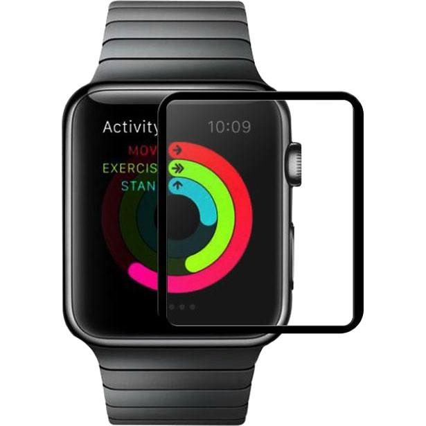 Защитное стекло HOCO Ghost Series Full Rim для Apple Watch 38 мм с декоративной рамкойЗащитные пленки Apple Watch<br><br><br>Цвет товара: Прозрачный<br>Материал: Закалённое стекло<br>Модификация: 38 мм