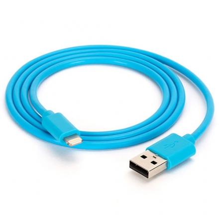 Кабель Griffin USB to Lightning для iPhone / iPad / iPod ГолубойКабели Lightning<br>Кабель Griffin Lightning to USB 0,9 м для iPhone синий<br><br>Цвет товара: Голубой<br>Материал: Пластик