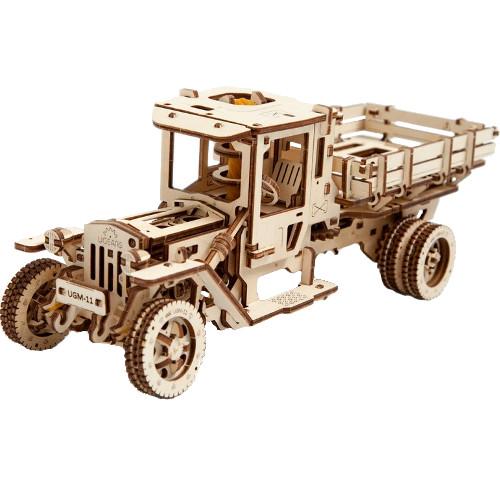 3D-пазл UGears Грузовик UGM-11 (Model «UGM 11 TRUCK»)3D пазлы и конструкторы<br>3D-пазл UGears Грузовик<br><br>Цвет товара: Бежевый<br>Материал: фанера (ФК)