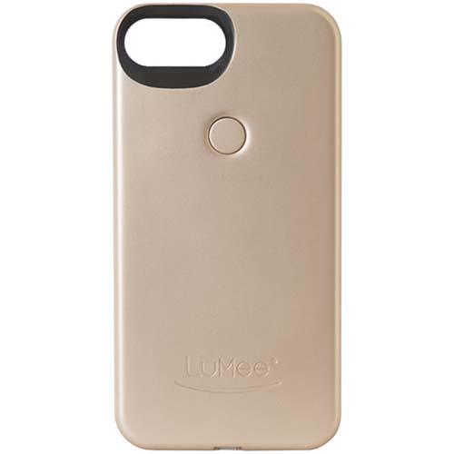 Чехол LuMee Two с подсветкой для iPhone 7 Plus золотойЧехлы для iPhone 7/7 Plus<br>Чехол LuMee TWO для iPhone 7 Plus с подсветкой золотой мат.<br><br>Цвет товара: Золотой
