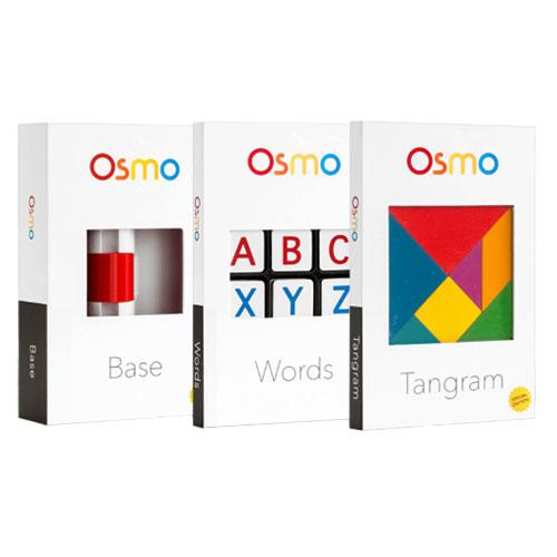 Инновационный игровой комплект Osmo Starter Kit Game System для iPad (TP-OSMO-01)Развивающие игры для детей<br>Игровая система Play Osmo Starter Kit<br><br>Цвет товара: Разноцветный<br>Материал: Пластик