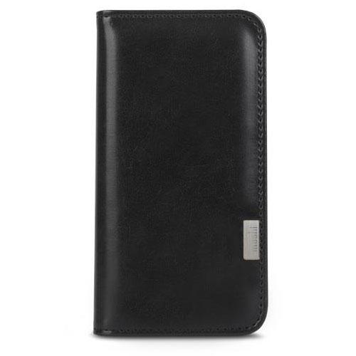 Чехол Moshi Overture Wallet Case для iPhone 7 Plus  (Айфон 7 Плюс) чёрныйЧехлы для iPhone 7 Plus<br>Чехол Moshi Overture Wallet Case для iPhone 7 Plus  (Айфон 7 Плюс) чёрный<br><br>Цвет товара: Чёрный<br>Материал: Поликарбонат, полиуретановая кожа