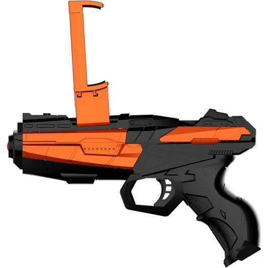 Пистолет для виртуальной реальности Evoplay AR Gun ARS-20Игрушки управляемые смартфоном<br>AR Game Gun создает реальность в любом месте, в любое время!<br><br>Цвет: Чёрный<br>Материал: Пластик