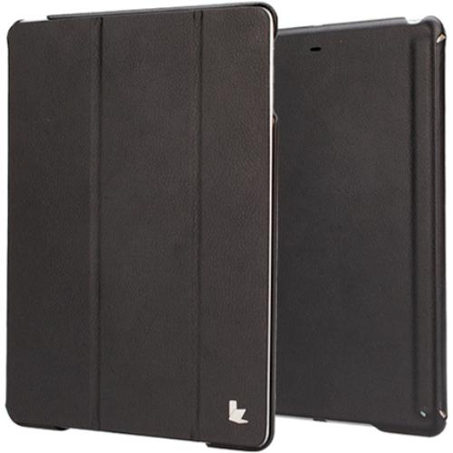 Чехол Jison Smart Cover для iPad Air чёрныйЧехлы для iPad Air<br>Чехол Jison Smart Cover - это чистые линии и высокая функциональность, простота и технологичность, элегантность и универсальный дизайн.<br><br>Цвет товара: Чёрный<br>Материал: Натуральная кожа, поликарбонат