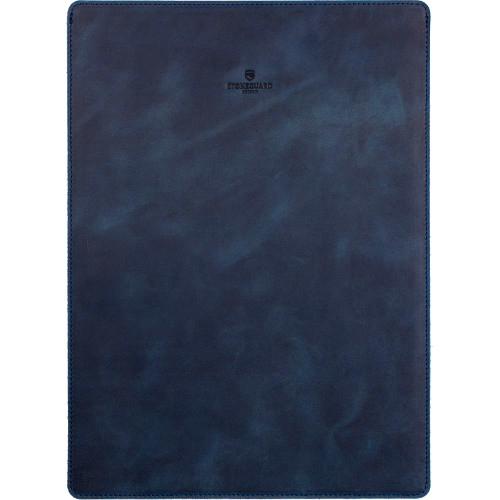 Кожаный чехол Stoneguard для MacBook Pro 15 Touch Bar синий Ocean (511)Чехлы для MacBook Pro 15 Touch Bar<br>Чехол Stoneguard — это абсолютный минимализм! Тонкий дизайн чехла позволит вам без труда спрятать ноутбук в чехле в сумку или рюкзак.<br><br>Цвет товара: Синий<br>Материал: Натуральная кожа, фетр