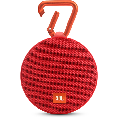 Портативная акустическая система JBL Clip 2 краснаяКолонки и акустика<br>Портативная акустическая система JBL CLIP 2 - красная<br><br>Цвет товара: Красный<br>Материал: Пластик, металл